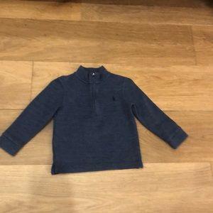Blue Polo Ralph Lauren Zip Sweater